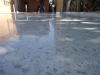 White Cement Mechanically Polished Full Aggregate